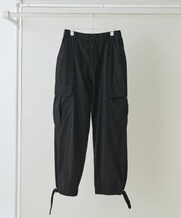 NICE CLAUP OUTLET(ナイスクラップ アウトレット) 【NUNIFE】裾絞りカーゴパンツ