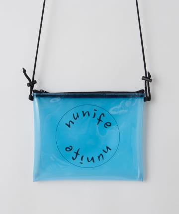 NICE CLAUP OUTLET(ナイスクラップ アウトレット) 【NUNIFE】PVCサークルロゴショルダー