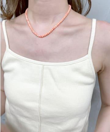 mystic(ミスティック) [Eau un bijou] coral (necklace)