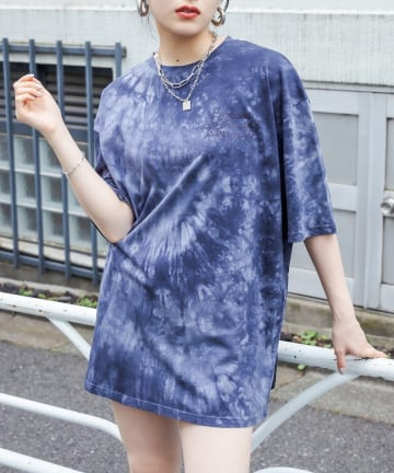 RASVOA(ラスボア) タイダイBIG Tシャツ