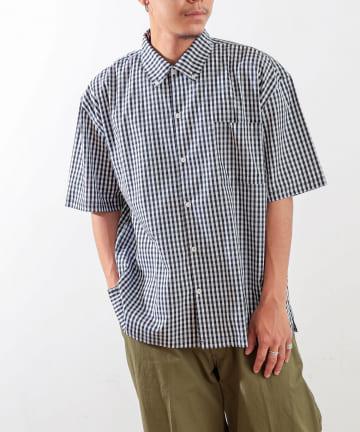 Discoat(ディスコート) ギンガムビッグシャツ