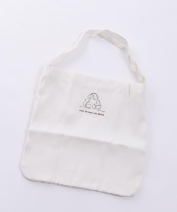 3COINS(スリーコインズ) 【TUDUKU】ワンショルバッグ【Sサイズ】