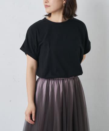 BONbazaar(ボンバザール) バックプリントTシャツ