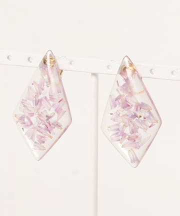 natural couture(ナチュラルクチュール) お花イヤリング