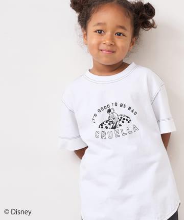 pual ce cin(ピュアルセシン) <101匹わんちゃん>刺繍Tシャツ【kids】