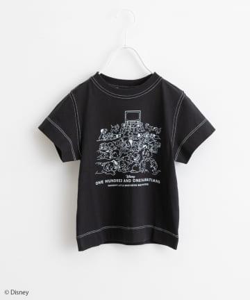 pual ce cin(ピュアルセシン) 101匹わんちゃん/プリントTシャツ【kids】
