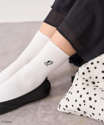 pual ce cin(ピュアルセシン) 101匹わんちゃん/靴下