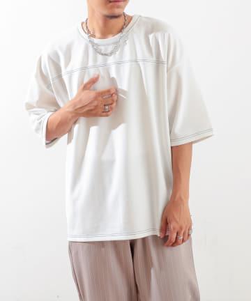 Discoat(ディスコート) カノコポンチフットボールTシャツ