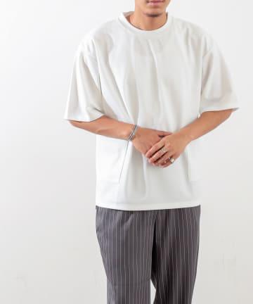 Discoat(ディスコート) カノコポンチダブルポケットTシャツ