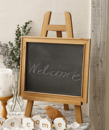 salut!(サリュ) 【Welcome Decoration】ブラックボードandイーゼル