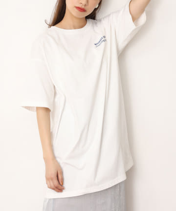 NICE CLAUP OUTLET(ナイスクラップ アウトレット) 【one afteranother】BIGtee