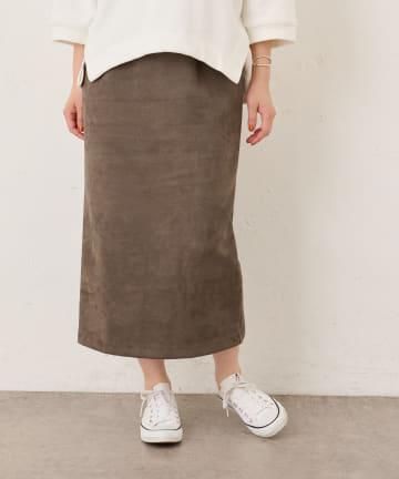 BONbazaar(ボンバザール) ダンボールスエードスカート
