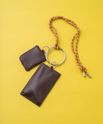 Kastane(カスタネ) 【kolors like you】モバイル&カードケースショルダー