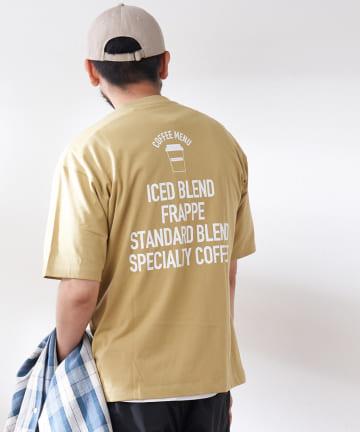 CIAOPANIC TYPY(チャオパニックティピー) 【FAMIMA CAFE】バックプリントポケットTee