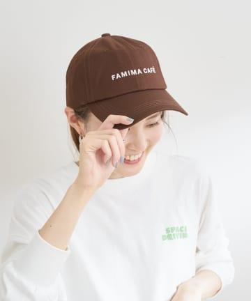 CIAOPANIC TYPY(チャオパニックティピー) 【FAMIMA CAFE】ロゴ刺繍キャップ
