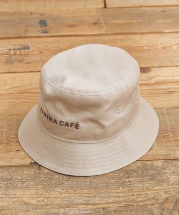 CIAOPANIC TYPY(チャオパニックティピー) 【FAMIMA CAFE】ロゴ刺繍ハット