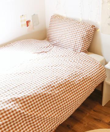 ASOKO(アソコ) チェック柄寝具3点セット