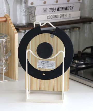 salut!(サリュ) おうちまな板と鍋蓋スタンド