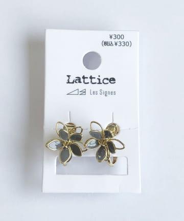 Lattice(ラティス) フラワーイヤリング