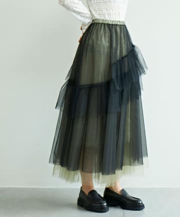 GALLARDAGALANTE(ガリャルダガランテ) チュールスカート