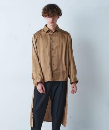 Lui's(ルイス) バックロングテールスリットシャツ