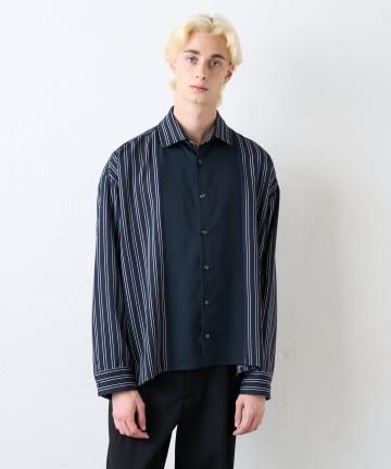 Lui's(ルイス) アムンゼン配色切替シャツ
