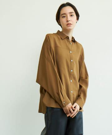 GALLARDAGALANTE(ガリャルダガランテ) シアーストライプシャツ