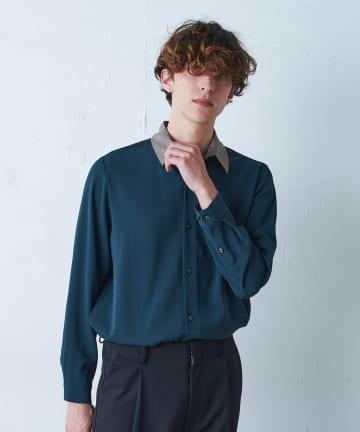 Lui's(ルイス) チェックカラークレリックシャツ