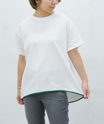 BONbazaar(ボンバザール) パイピングTシャツ