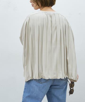 BONbazaar(ボンバザール) プリーツTシャツ