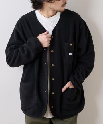 CIAOPANIC TYPY(チャオパニックティピー) 【Lee×CIAOPANIC TYPY】ノーカラーフリースジャケット