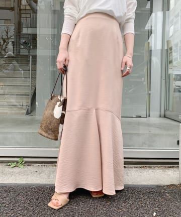 OUTLET(アウトレット) 【SHENERY】ペプラムマーメイドスカート