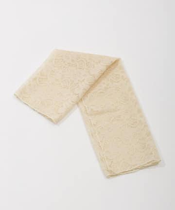 Lattice(ラティス) 花柄レーススカーフ