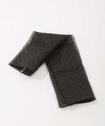 Lattice(ラティス) ドット柄スカーフ