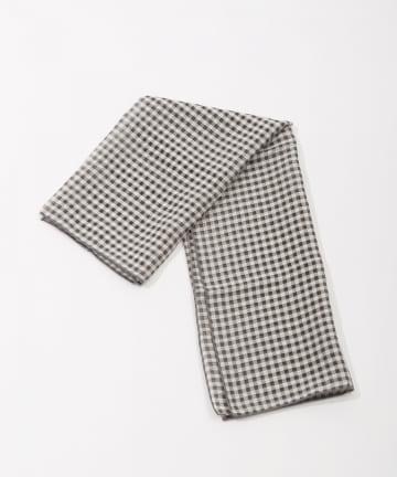 Lattice(ラティス) ギンガムチェック柄スカーフ