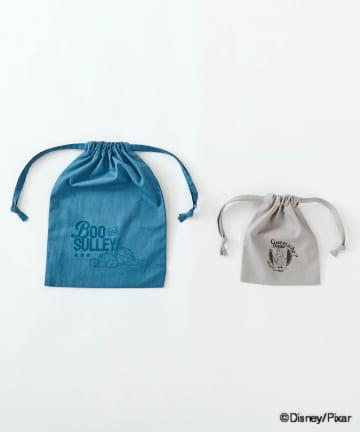 3COINS(スリーコインズ) 【PIXAR PART1】巾着2枚セット
