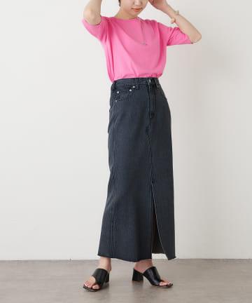 Omekashi(オメカシ) デニムスリットロングスカート