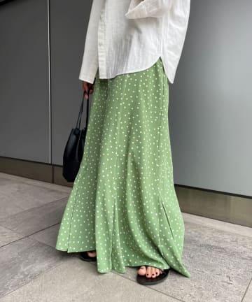 SHENERY(シーナリー) マーメイドドットロングスカート