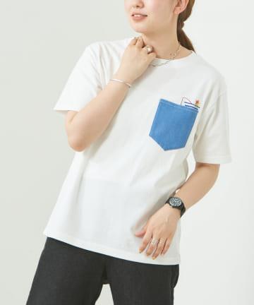 CPCM(シーピーシーエム) 釣り刺繍×ポケT