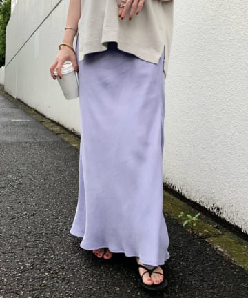 SHENERY(シーナリー) フィブリルツイルマーメイドスカート
