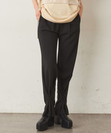 Lui's(ルイス) 裾絞り2WAYパンツ