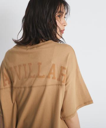 RIVE DROITE(リヴドロワ) 【夏でも涼しく着れるビックT】バックロゴTシャツ