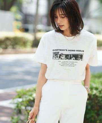 RIVE DROITE(リヴドロワ) 【GOOD ROCK SPEED】GODLIS PHOTO Tシャツ 2