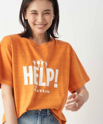 RIVE DROITE(リヴドロワ) 【《GOOD ROCK SPEED》洗える】BEATLES HELP Tシャツ