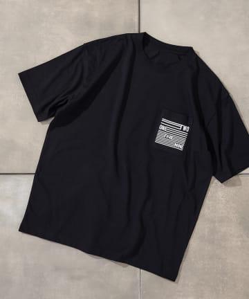 COLONY 2139(コロニー トゥーワンスリーナイン) マットプリント半袖TシャツA※セットアップ対応/ワンマイルウェア/ユニセックス可