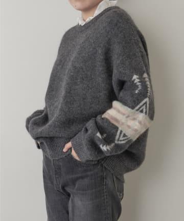 Whim Gazette(ウィム ガゼット) 【PENDLETON】別注クルーニット