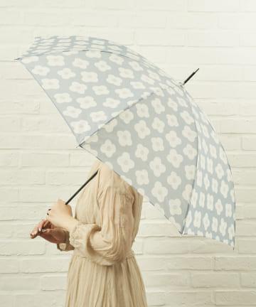 salut!(サリュ) 雨傘長おはな(ブルー)