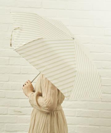 salut!(サリュ) 雨傘折バイアス(ベージュ)
