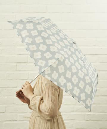 salut!(サリュ) 雨傘折おはな(ブルー)
