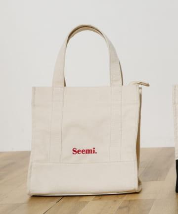 Seemi.by NICE CLAUP(シーミーバイナイスクラップ) キャンバスショルダーバッグ